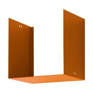 Półka Geometric One, pomarańczowa