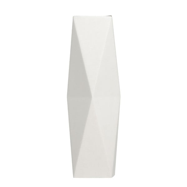 Składany wazon origami SNUG.White