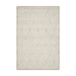 Wełniany dywan Augusta 121x182 cm, kremowy