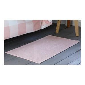 Różowy dywanik łazienkowy Walra Kim, 60x100cm
