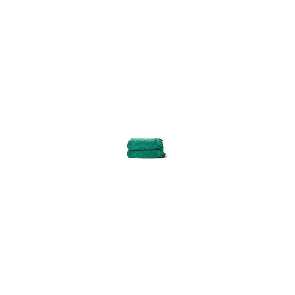 zestaw 2 zielonych r cznik w bawe nianych casa di bassi bath bonami. Black Bedroom Furniture Sets. Home Design Ideas
