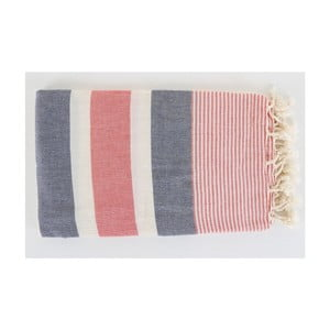 Hammam ręcznik Fouta Dark Blue, 100x180 cm