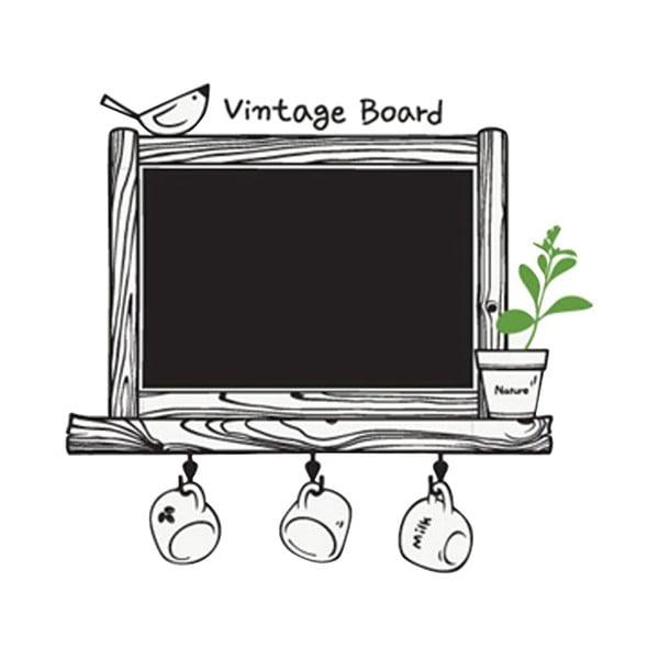 Naklejka dekoracyjna Vintage Board, 62x66 cm