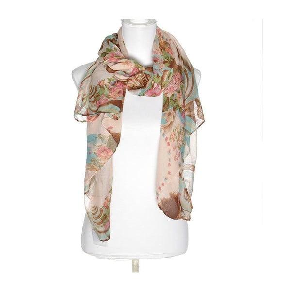 Chusta BLE Inart 100x180 cm, różowa