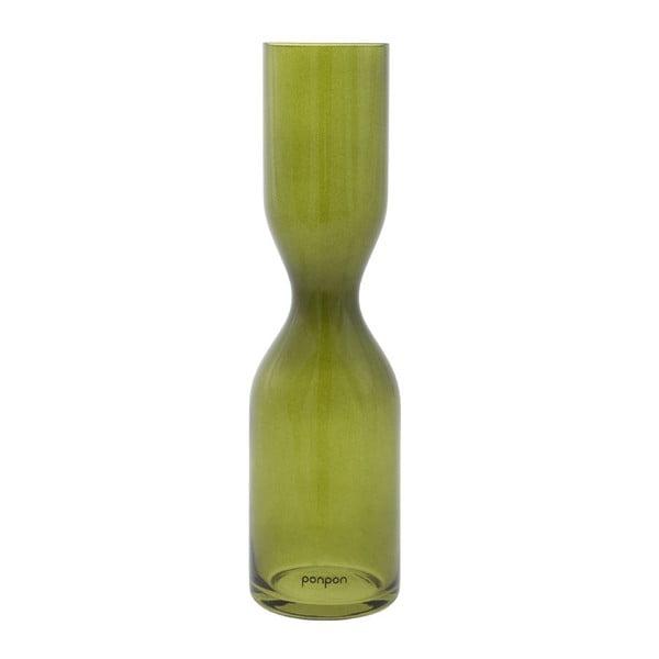 Wazon Pinch 36 cm, zielony