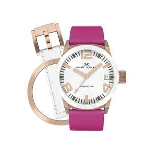 Zegarek damski Marc Coblen z dodatkowym paskiem i obręczą P22
