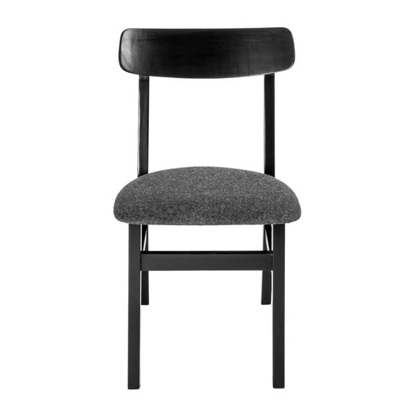 Zestaw 2 krzeseł Oslo Black