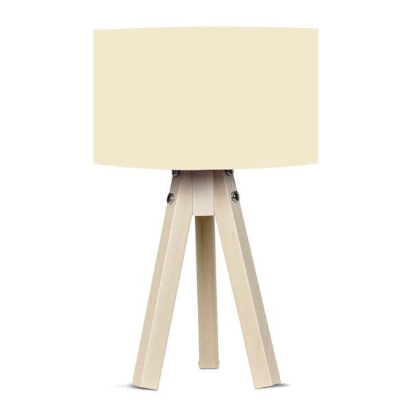 Lampa stołowa z beżowym abażurem Kate Louise Naturel