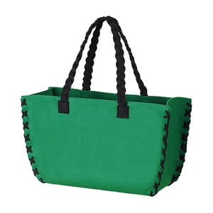 Filcowa torba, zielona