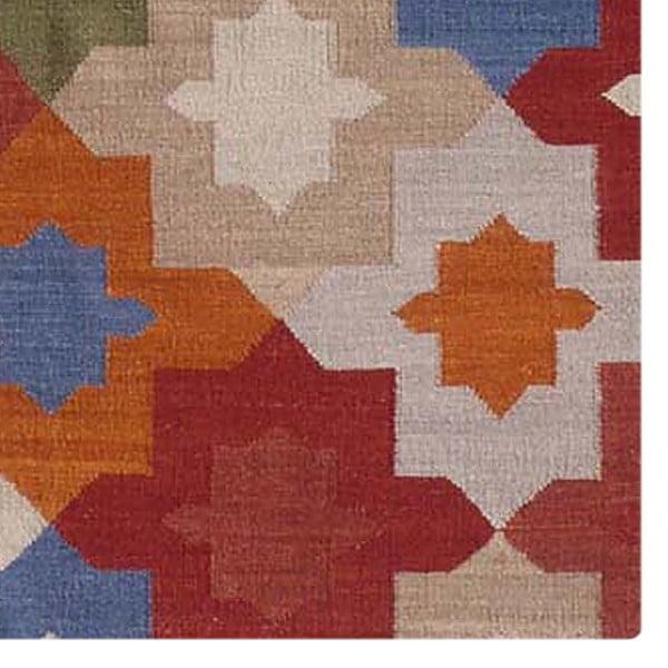 Ręcznie tkany dywan Kilim No. 702, 155x240 cm