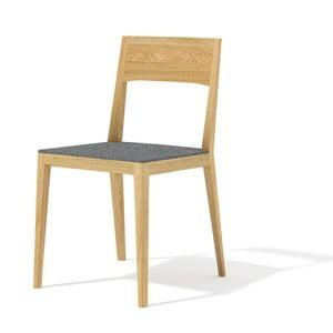 Krzesło z litego drewna dębowego Javorina Inca