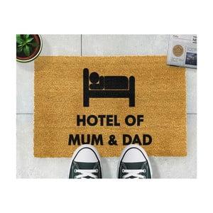 Wycieraczka Artsy Doormats Hotel Mum And Dad, 40x60 cm
