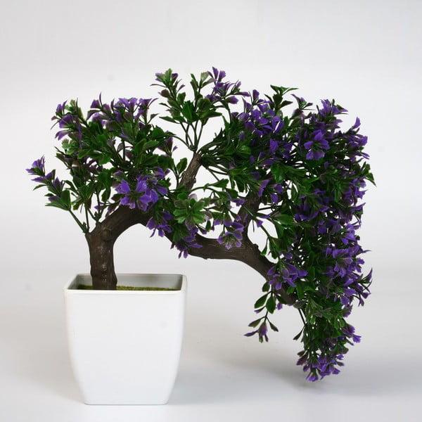 Sztuczna roślina w doniczce Bonsai Lila