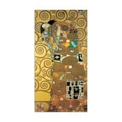 Obraz Gustav Klimt - Spełnienie, 51x100 cm