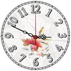 Zegar ścienny Wild Flower, 30 cm