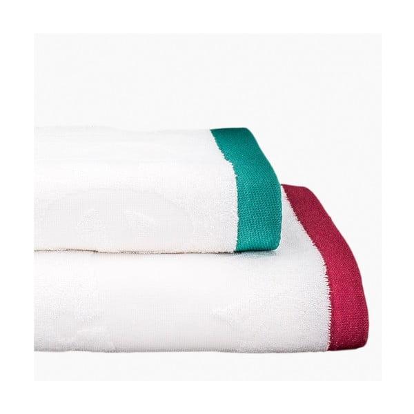 Zestaw 2 ręczników Sweet Monsters, 50x100 cm i 70x140 cm