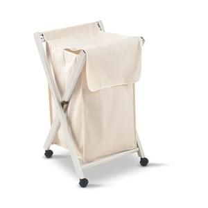 Biały kosz na pranie Arredamenti Italia Banny