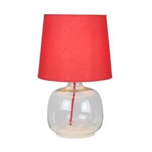 Lampa stołowa Mandy, czerwona