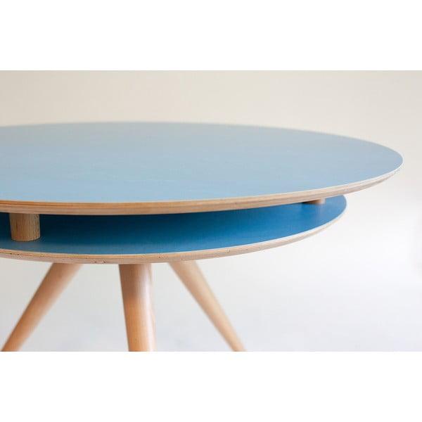 Niebieski stolik Ragaba Triad