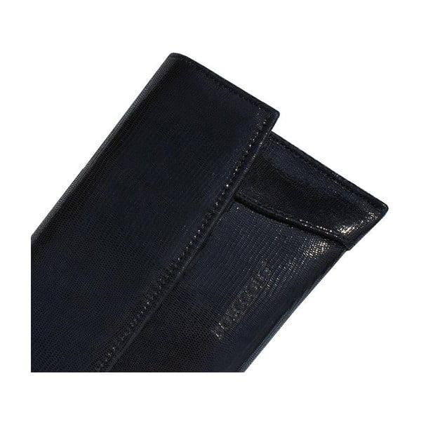 Skórzana kopertówka Boscollo Black 2228