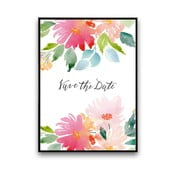Plakat Save The Date, 30 x 40 cm