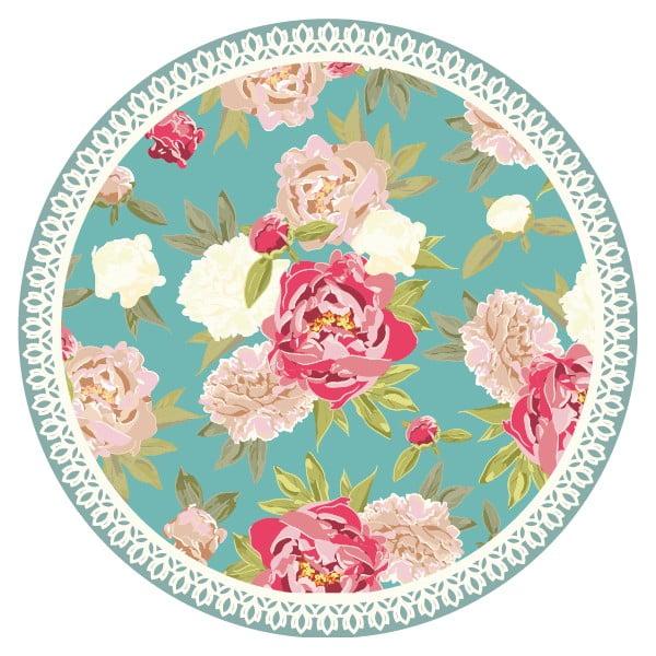 Zestaw 2 mat stołowych Flowers