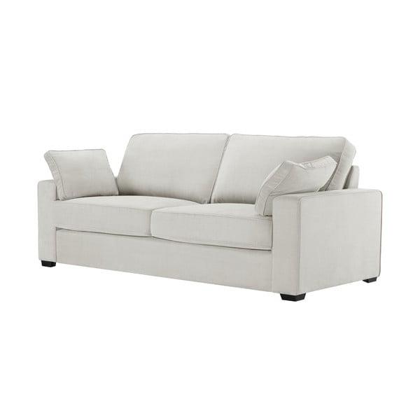 Sofa trzyosobowa Jalouse Maison Serena, kremowa