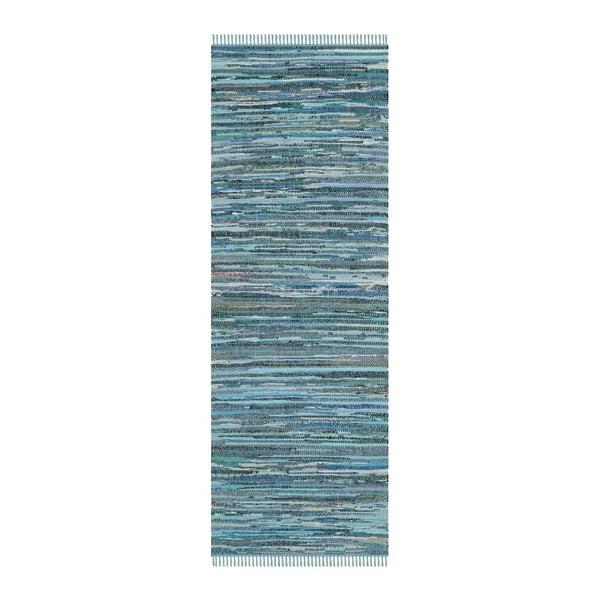Dywan Elena Blue, 68x182 cm