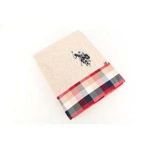 Ręcznik US Polo Bath Pink Check, 75x150 cm
