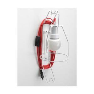 Kinkiet Walker, czerwony kabel