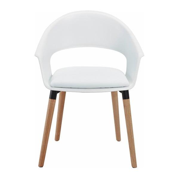 Zestaw 2 białych krzeseł Støraa Alto