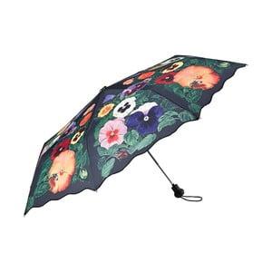 Parasolka Von Lilienfeld Pansies, ø 90 cm