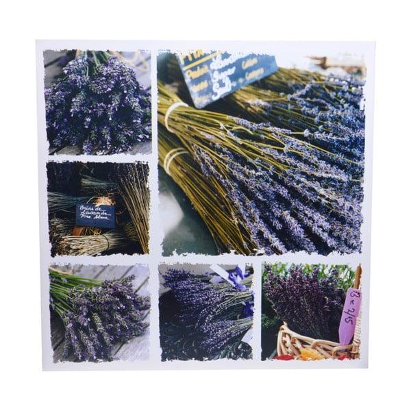 Obraz Ewax Lavender Canvas, 60x60 cm