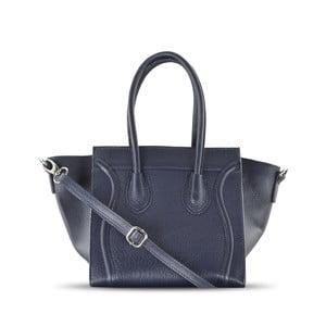 Skórzana torebka Rose, niebieska