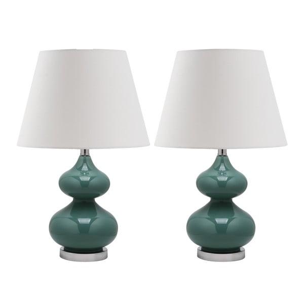 Zestaw 2 lamp stołowych Gabriel Marine