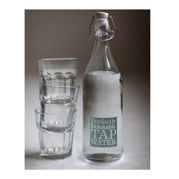 Szklana butelka Tap Water
