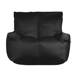 Czarny worek do siedzenia dwuosobowy Sit and Chill Coron