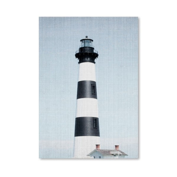 Plakat Light House Striped