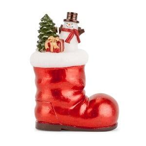 Dekoracja But z prezentami Santa