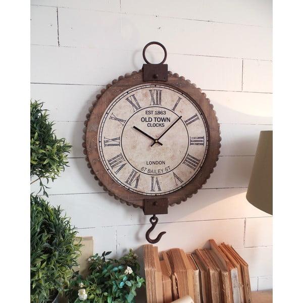 Zegar ścienny Vintage Natural, 70 cm