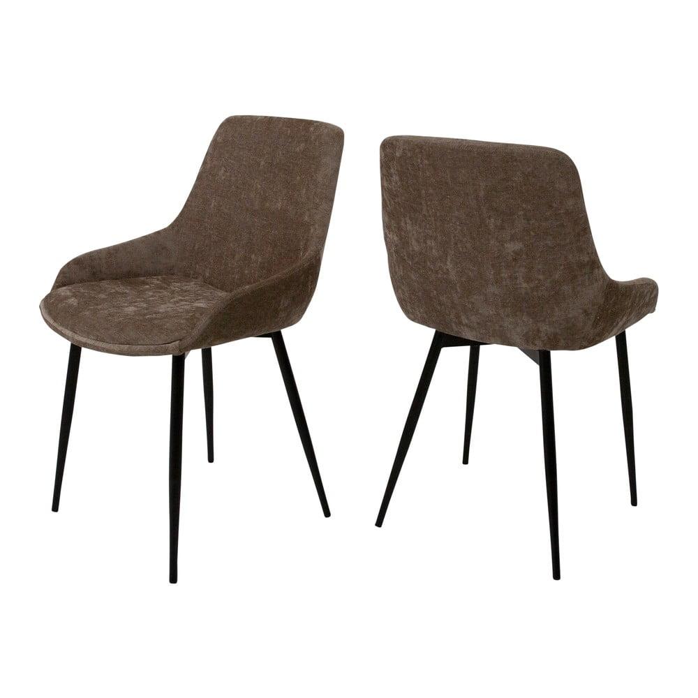 Brązowe krzesło Canett Merick