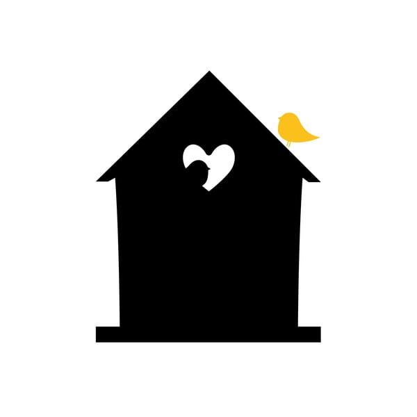 Dekoracyjna tablica samoprzylepna Bird Love