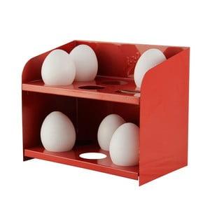 Stojak na jajka, czerwony