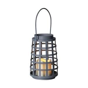 Szary lampion LED Best Season Petula