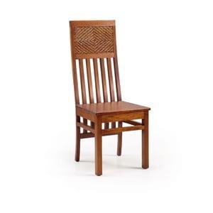 Krzesło z drewna mahoniowego Moycor Flamingo