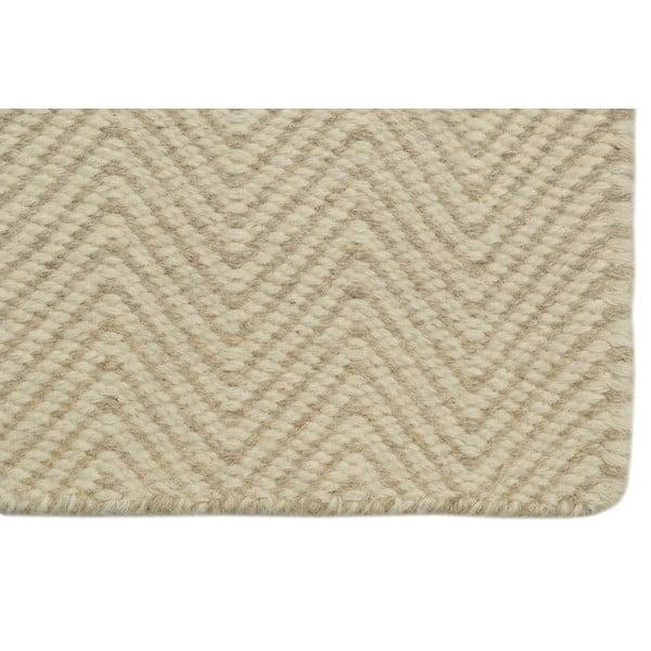 Ręcznie tkany dywan Beige Kilim, 160x230 cm