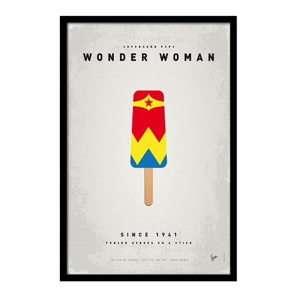 Plakat Wonder Woman, 35x30 cm