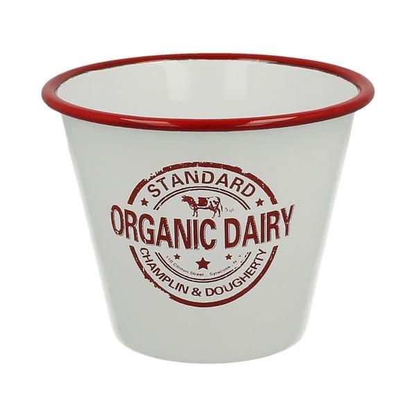 Emaliowana doniczka Organic