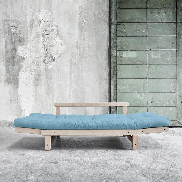 Sofa rozkładana Beat Beech/Celeste