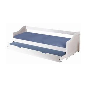Łóżko Leon White M